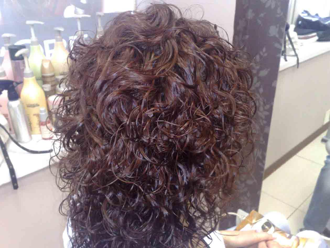 краска для покраски волос с кончика